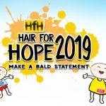 儿童癌症基金落发筹款活动 Hair for Hope 2019